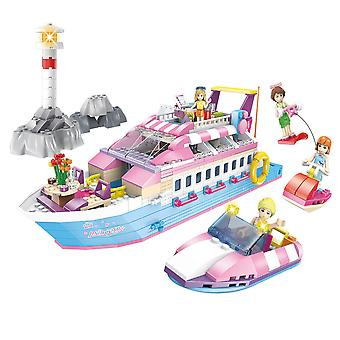 Homemiyn Princess Yacht Toys Children's Educational Toys Play House Toys Gifts For Children