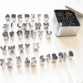 37pc Alphabet & Number Cutters For Cake Decorating Cake Craft Sugarcraft Icing Marzipan