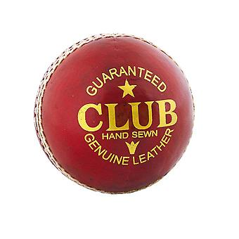 Readers Club Senior Herren Erwachsene Cricket Ball Rot