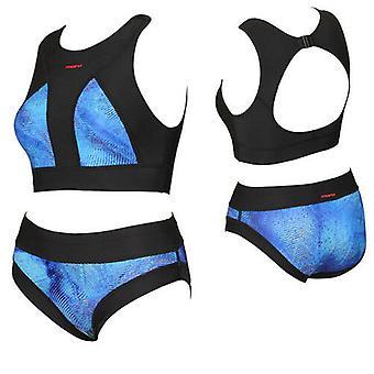 מארו שחור כחול צבעוני נשים אימון ביקיני להגדיר FS6072 RW59