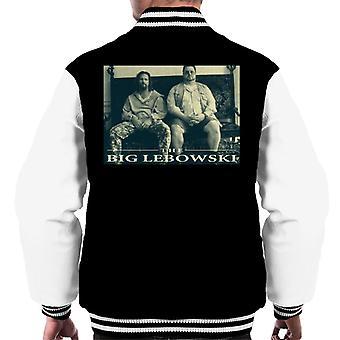 Iso Lebowski The Dude ja Walter Sofa Men's Varsity Jacket