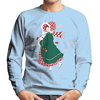 Holly Hobbie Julklänning Män's Sweatshirt