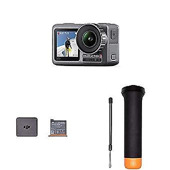 Dji osmo action cam, digital camera with 11 m dual screen, water resistant, 4k hdr-video 12mp 145 de