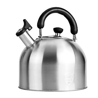 3l Stainless Steel Kettle Stovetop Whistling Tea Pot