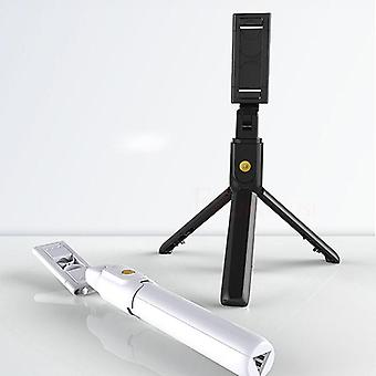 Foldable Mini Tripod Bluetooth Selfie Stick With Wireless Shutter Extendable
