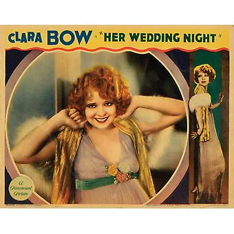 Son mariage nuit Clara Bow 1930 Movie Poster Masterprint