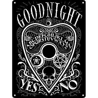 Grindstore Goodnight Ouija Plaque