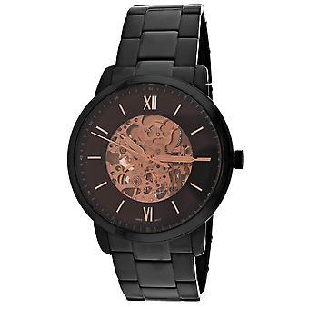 Fossil Men's Neutra Black Dial Watch - ME3183