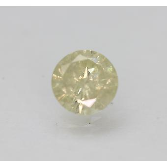 Certified 1.04 Carat L Round Brilliant Natural Loose Diamond For Ring 6.54mm