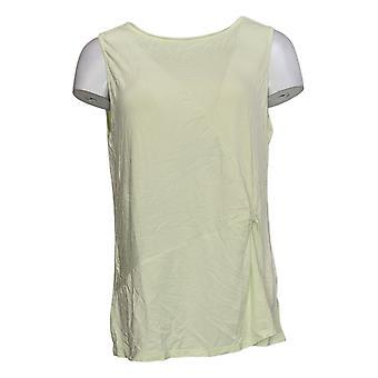 عناق Duds Women & apos;s أعلى Softwear تمتد تويست خزان الجبهة الخضراء A373510