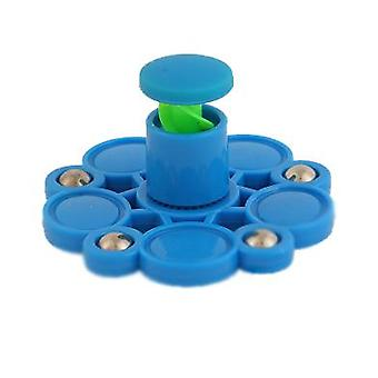 Hand Tapping The Top Decompression Toy Spinning Top