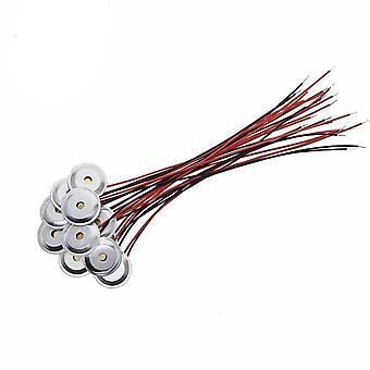 Piezoelectric Piezo Ceramic Wafer Plate Dia 15mm Per altoparlante buzzer +