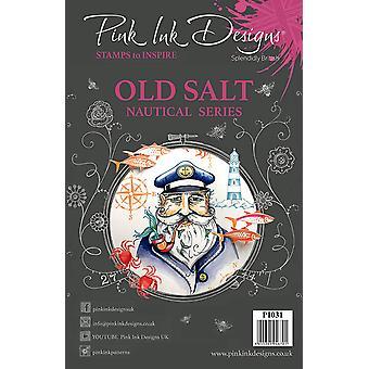 Pink Ink Designs Clear Stamp Old Salt A5