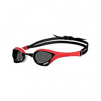 Arena Cobra Ultra nadar gafas humo lente-rojo/blanco marco