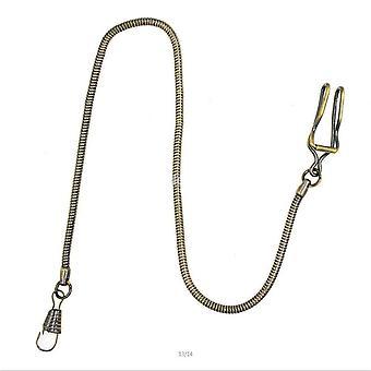 Classic Bronze Tone Snake Chain