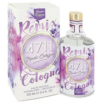 4711 Remix Lavender Eau De Cologne Spray (Unisex) Por 4711 3.4 oz Eau De Cologne Spray