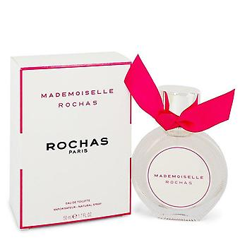 Mademoiselle Rochas Eau De Toilette Spray By Rochas 1.7 oz Eau De Toilette Spray