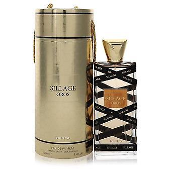 Sillage Oros Eau De Parfum Spray (Unisex) By Riiffs 3.4 oz Eau De Parfum Spray