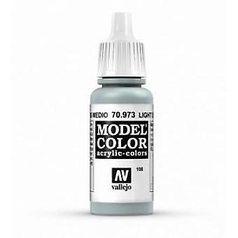 Vallejo Model Color 17ml Acrylic Paint - 973 Light Sea Grey