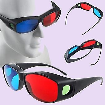 1pcs Black Frame Red Blue 3d Glasses  For Dimensional Anaglyph