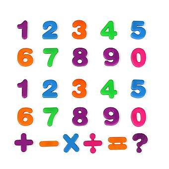 26pcs/set English Letters Alphabet Puzzle Colorful Fridge Sticker Educational