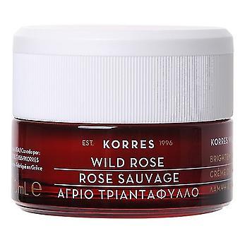 Korres Crème de jour pour peau normale Rose sauvage 40 ml