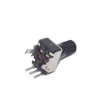 10pcs Rv09 Vertical 12.5mm Shaft 1k 100k 1m Adjustable Resistor Rotary