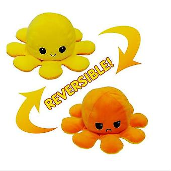 Reversible Plush, Double Sided Flipped Plush Reversible Luminous Plush Reversible Octopus