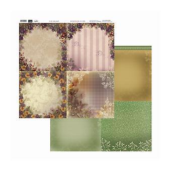 Couture Creations - Blombukett 12x12 tum Dubbelsidiga förpackningar med 10 ark