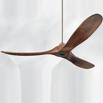 Priemyselný vintage drevený 60-palcový stropný ventilátor