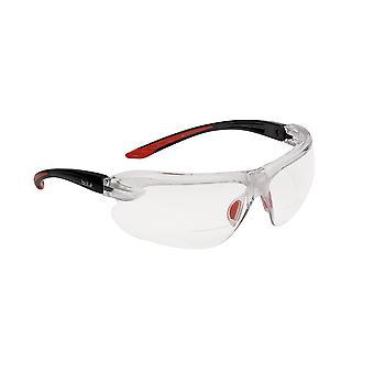Bolle Iridpsi1.5 Iris Spectacles Clear Lens Bi Material Frame +1.5
