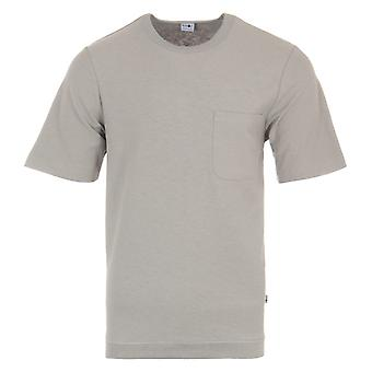 NN07 Denzel Sustainable Cotton T-Shirt - Grey