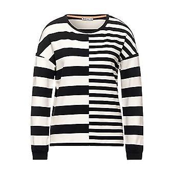 Street One 315815 T-Shirt, Dark Shaded Grey, 38 Woman