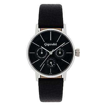 Gigandet Minimalism Women's Watch Analog Multifunction Watch Quartz Black Silver G38-001