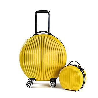 18 بوصة مع حقيبة حقيبة تعيين جولة عربة الأمتعة PC