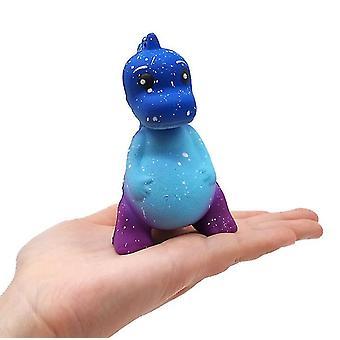 2 Stücke blau squishy langsam Rebound Spielzeug Simulation Stern Dinosaurier Dekompression Spielzeug Kinderspielzeug az7459