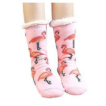 Group5 2 pcs גרביים החורף מטושטש גרביים חלקלק חם גרביים מטושטש x1065