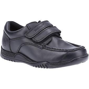Hush puppies kid's hayden senior school shoe black 32733