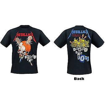 Metallica - Damage Inc Herre Medium T-skjorte - Svart