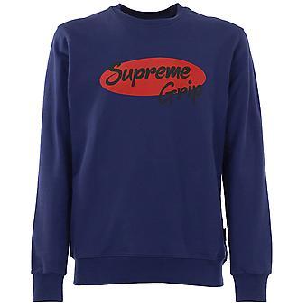 Supreme Grip Men Sweatshirt  Navy