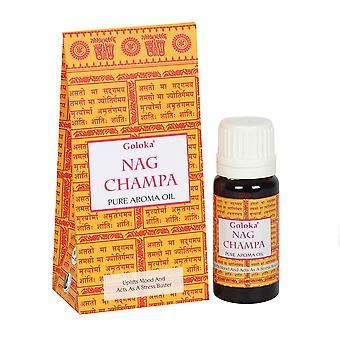 Goloka Fragrance Oil Goloka Nag Champa 10ml