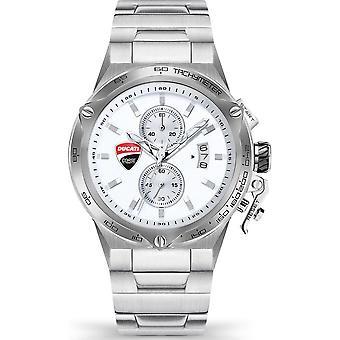 Ducati Wristwatch Men's Classic Chrono Bracelet GIRO UNO DTWGI2019106