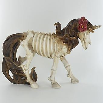 Day Of The Dead Unicorn Figurine