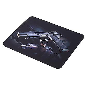 Guns Pattern Anti-slip Computer Gaming Mouse Pad Mat Mousepad 22cm*18cm