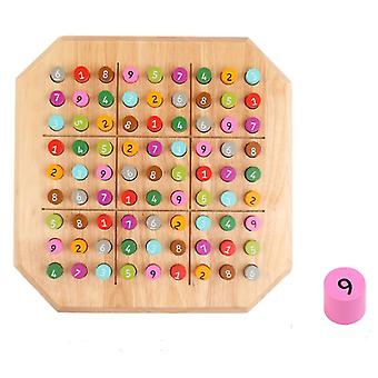 Wooden Sudoku Game, Children's Educational Toy