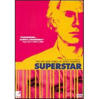 Superstar Life amp Times Of Andy Warhol [ DVD Regio 2