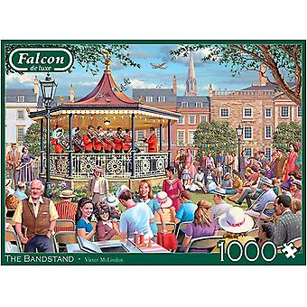 Falcon Deluxe Bandstand pussel (1000 stycken)