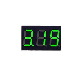 0.36 Inch dc led digitálny voltmeter 0-100v merač napätia auto auto mobilné napätie tester detektor 12v červená zelená modrá žltá