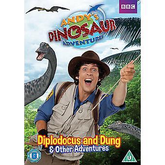 Andys Dinosaur Adventures Diplodocus and Dung DVD (2015) Kate Copeland cert U Region 2