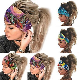 Sports Headband Women's Yoga Headbands Sweat-absorbent Headscarf Outdoor Riding